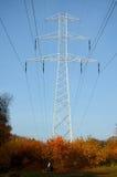 Lijn met hoog voltage Stock Afbeelding