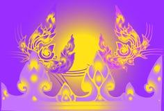 Lijn Thaise toepassing Royalty-vrije Stock Afbeelding