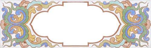 Lijn van Chinees frame Stock Afbeelding
