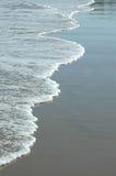 Lijn van kleine golven Stock Foto