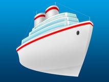 Lijnboot royalty-vrije illustratie