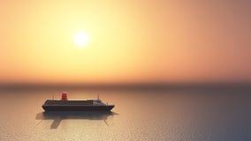 Lijnboot Royalty-vrije Stock Foto's