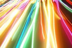 Lijnen 001 van de beweging Stock Afbeeldingen