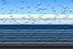 Lijnen Blauwe fosforescerende abstracte achtergrond, ontwerp Royalty-vrije Stock Foto's