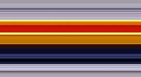 Lijnen in blauwe, oranje, gele tinten, abstract lijnenpatroon Stock Afbeelding