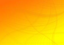 Lijnen op een oranje gedegradeerde achtergrond stock illustratie