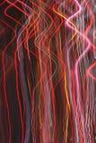 Lijnen van Lichten. Royalty-vrije Stock Afbeeldingen