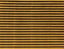 Lijnen van metaalluchtopeningen Stock Fotografie