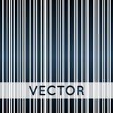 Lijnenachtergrond, de zwarte blauwe en witte vector van gradiëntstrepen Royalty-vrije Stock Afbeelding