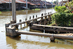 Lijnloodgieterswerk Stock Fotografie
