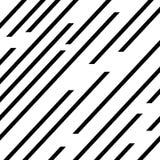Lijnpatroon, het pictogramvector van snelheidslijnen stock illustratie
