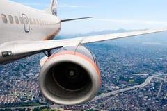 Lijnvliegtuig stock foto