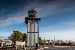 Lijst Buff Lighthouse Royalty-vrije Stock Foto's