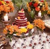 Lijst van cake Stock Foto's