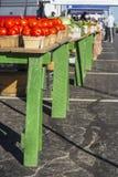 Lijst 5 van de landbouwersmarkt Stock Fotografie
