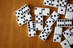 Lijst van Domino's Stock Fotografie