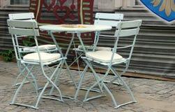 Lijst van een coffewinkel Royalty-vrije Stock Foto