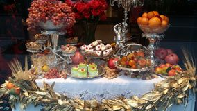 Lijst van Voedsel Royalty-vrije Stock Foto's