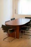 Lijst voor vergaderingen stock afbeelding