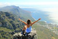 Lijstberg, Zuid-Afrika stock afbeeldingen