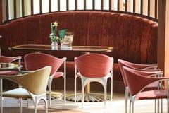 Lijsten en stoelen Royalty-vrije Stock Foto