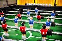 Lijstvoetbal, foosball stock fotografie