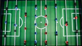 Lijstvoetbal, foosball royalty-vrije stock fotografie