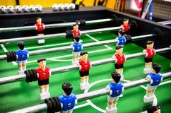 Lijstvoetbal, foosball royalty-vrije stock afbeelding