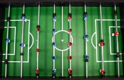 Lijstvoetbal, foosball stock foto's