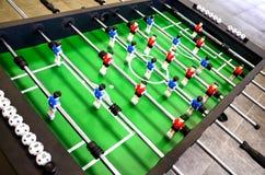 Lijstvoetbal, foosball royalty-vrije stock foto