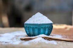 Lijstzout als Natrium-chloride ook wordt bekend dat Stock Foto's