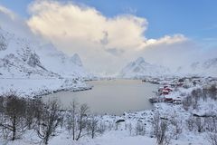 Reine, Lofoten, Norway Stock Images