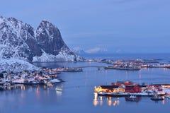 Reine, Lofoten, Norway Royalty Free Stock Image