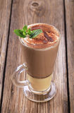 Likörkaffee stockbilder