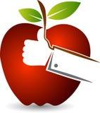 Like apple fruit logo Royalty Free Stock Images