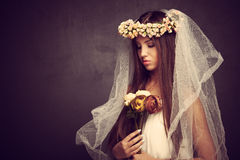 Like a bride Royalty Free Stock Photo