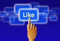 Like button Stock Images