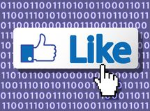 Like Button Stock Image