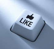 Like button Stock Photography