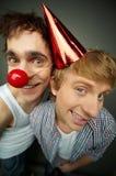 Like clowns Stock Image