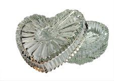 like crystal hjärta för asken Royaltyfri Bild