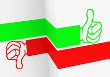 Like or dislike Stock Image