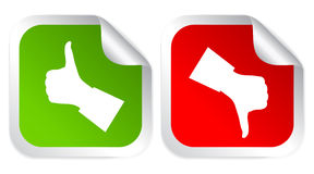 Like dislike icon Royalty Free Stock Photos