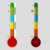 Like Dislike Meter. An image of a like and dislike meter Stock Images