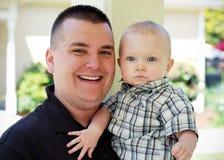 Like Father Like Son - horizontal Royalty Free Stock Image