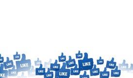 Like. Graphic design illustration image Stock Photography