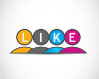 Like group icon Royalty Free Stock Images