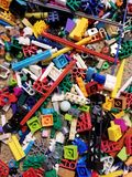 Legos on floor.