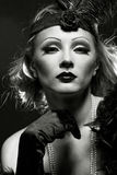 Like a Marlene Dietrich Royalty Free Stock Photo
