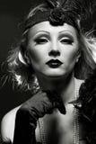 Like a Marlene Dietrich Royalty Free Stock Photo